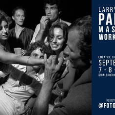 LARRY FINK WORKSHOP IN PARIS: 'Empathy: the Hidden Eye'