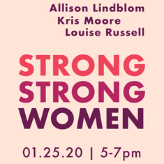Strong Strong Women, 7 Female Artists, 1 Exhibition, San Diego